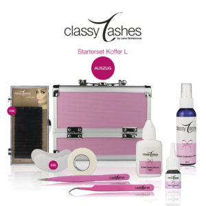 classy lashes starterset koffer l