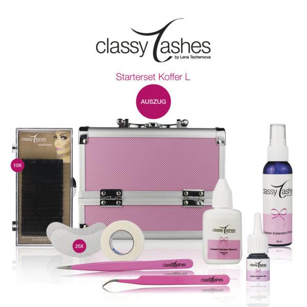 classy lashes starterset koffer l